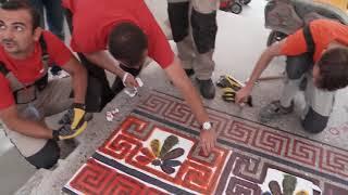 Декоративный бетон. Часть 3: Как нанести краску на бетон(, 2016-10-04T19:04:20.000Z)