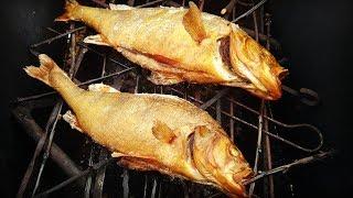 Копченая Рыба в Домашних Условиях. Коптильня из Подручных Материалов. Как Закоптить рыбу
