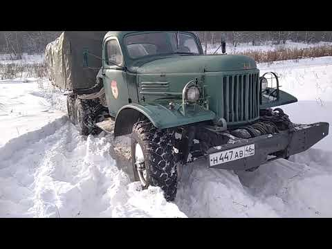 зил 157 по снегу
