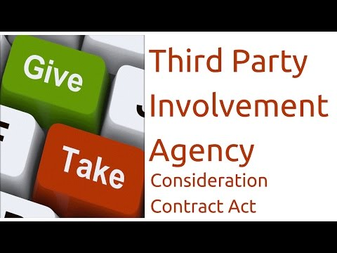 What is Agency | Consideration| Indian Contract Act Law | CA CPT | CS & CMA Foundation