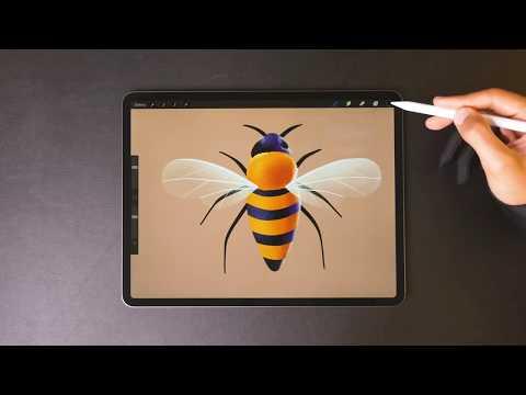 Oddly Satisfying Digital iPad Pro Art Compilation