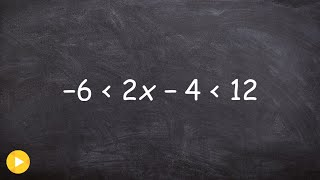 Solving and graphing and solving  compound inequality into two separate inequalities