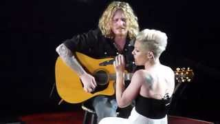 Pink - Who knew - live Manchester 15 april 2013 - HD