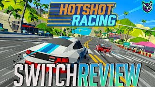 Hotshot Racing Switch Review - BEST Switch Arcade Racer? (Video Game Video Review)