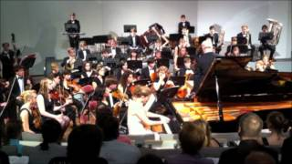 "AVELINE GRAM | S. Prokofiev: Piano Concerto n°1 (""Allegro brioso"" - ""Andante assai"") 1/2"