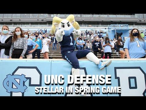 UNC Defense Looks Stellar In Spring Game