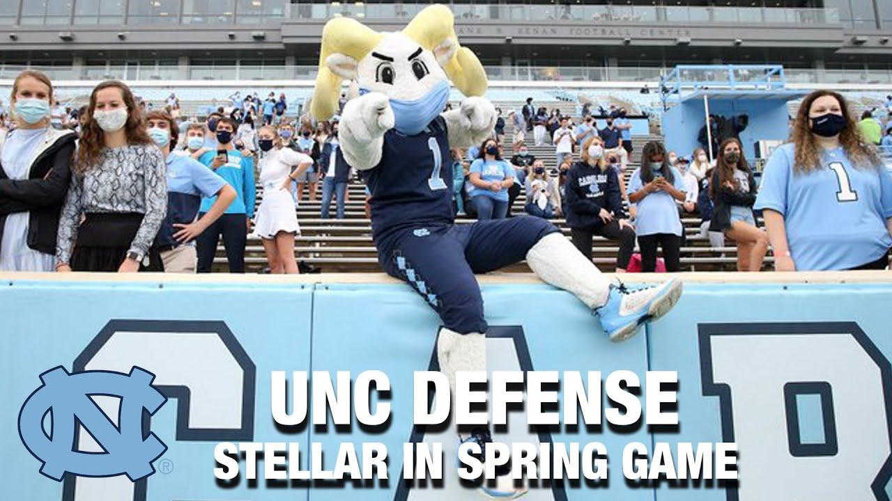 Video: UNC Defense Looks Stellar In Spring Game