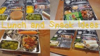 Kid's School Lunch and Snack Ideas | Allison's Journey