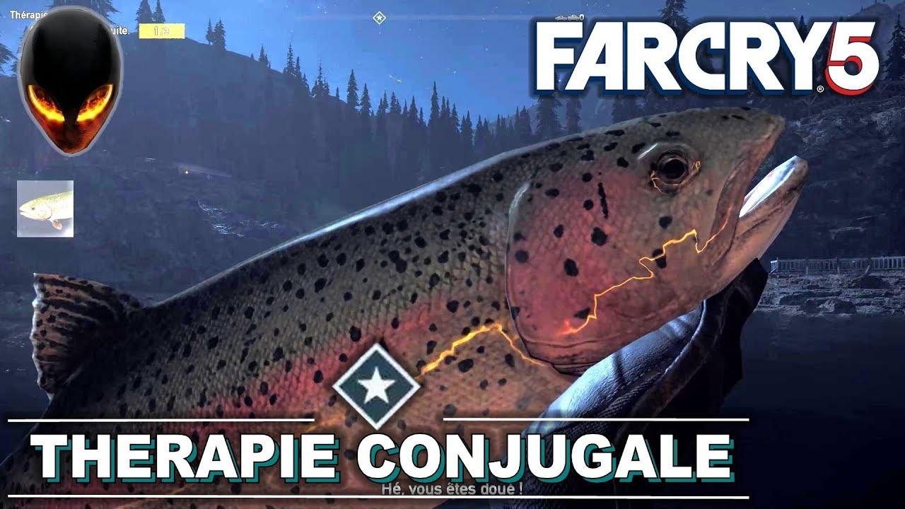 far cry 5 peche truite grise