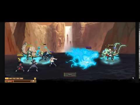 Ultimate Naruto RPG: Elite Ninja Match  Antar Vs. Yoto Yojito