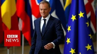 Brexit: EU leaders agree to move talks onto next stage - BBC News