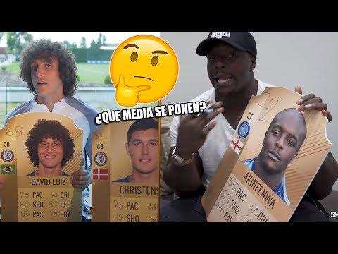 ¿Que MEDIA se PONDRÍAN ESTOS FUTBOLISTAS en FIFA 18? David Luiz, Dele Alli...