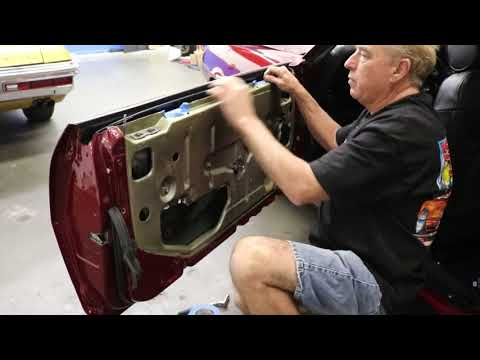 1968-69 Camaro Firebird Door Glass Removal Part 2 By Scared Shiftless
