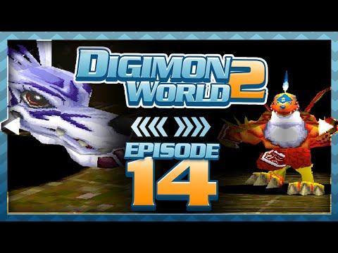Digimon World 2 - Episode 14 : Drive Domain & Garudamon Boss!