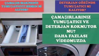 Çamaşır Makineniz Yumuşatıcıyı Hemen mi alıyor? Makinenizin Yumuşatıcı Gözü Suyla mı Doluyor?