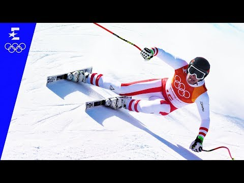 Alpine Skiing | Men's Super-G Highlights | Pyeongchang 2018 | Eurosport