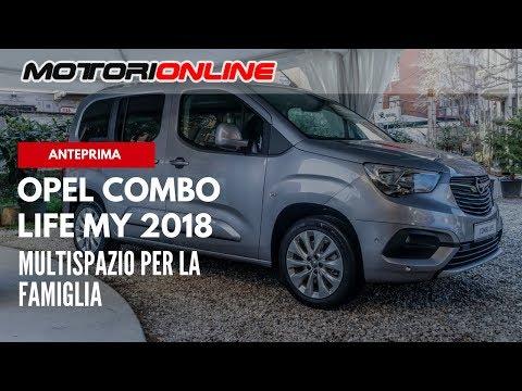 Nuovo Opel Combo Life | Anteprima