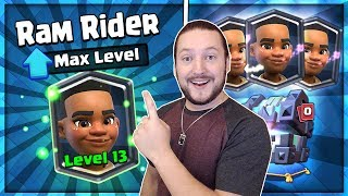 Clash Royale - Massive Legendary Kings Chest Opening - Max Level Ra...