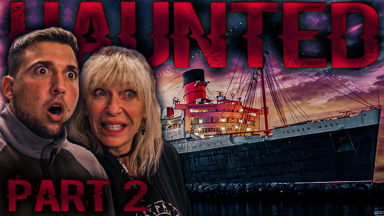 OVERNIGHT in HAUNTED QUEEN MARY: Séance of B340