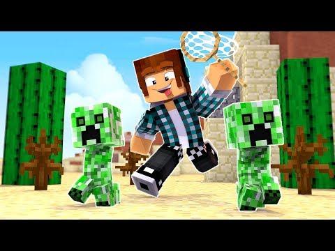 O CAÇADOR DE CREEPER !! - [ Vida de Creeper #6 ] - Minecraft