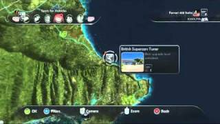 Test Drive Unlimited 2 - All Hawaii Tuning Shops Location - Max Zoom - HD