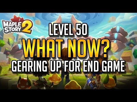 What To Do After Level 50 - MapleStory 2 Beginners Guide