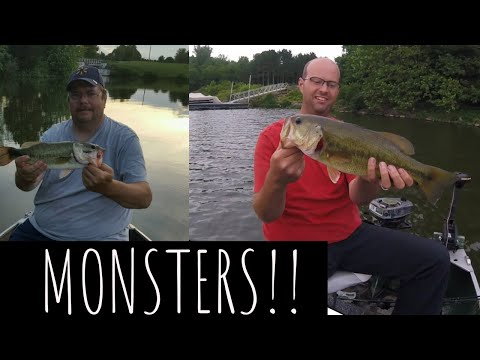Rocky Fork Lake Ohio: 2 BIG BASS Caught!