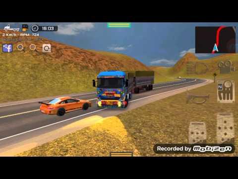 รถพ่วงไทย isusu 360 #เกมส์ grand truck simulator