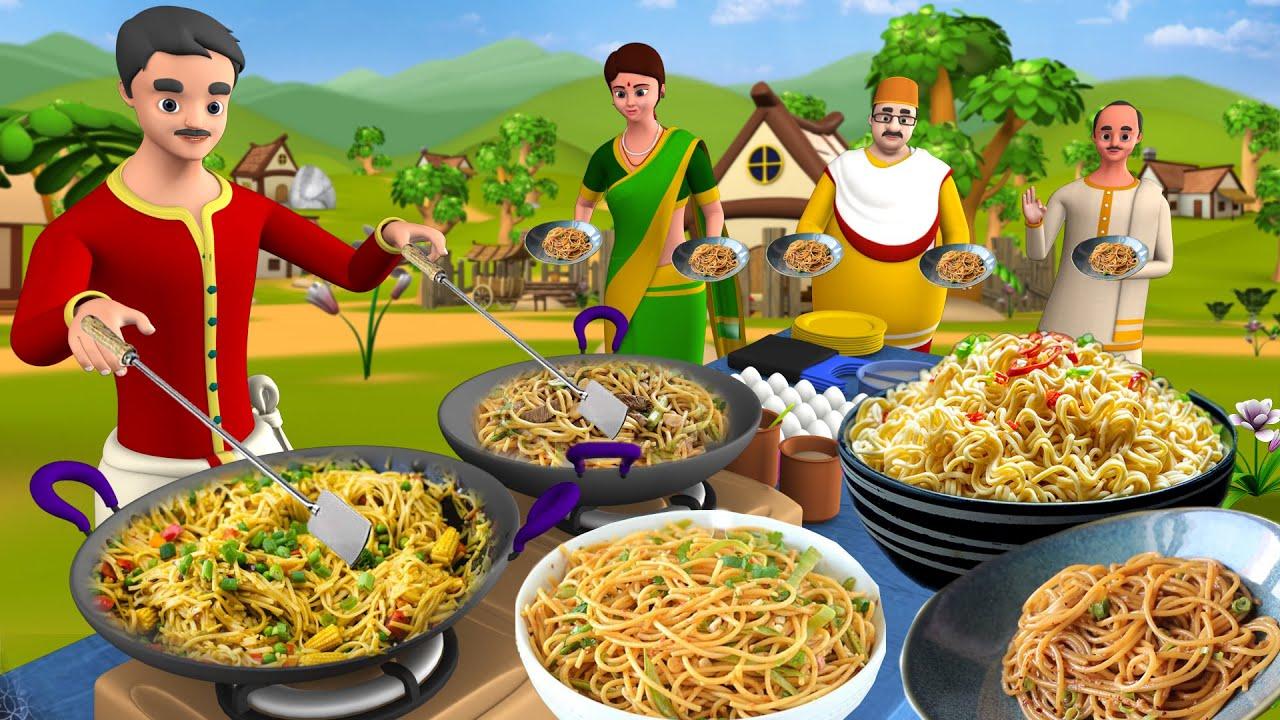 घमंडी नूडल्स वाला कहानी | Noodles Seller Story | Hindi Kahaniya | 3D Short Stories | Maa Maa TV