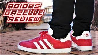 dialecto Feudo ocio  Adidas Gazelle Review and On-Feet | SneakerTalk - YouTube