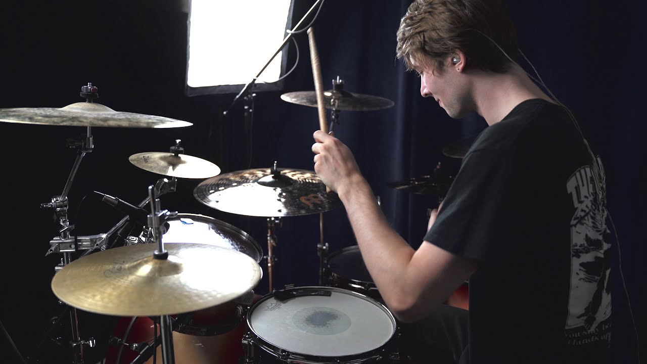 Thornhill - In My Skin - Drum Cover by Tom Verstappen (One Take)