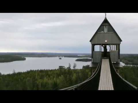 Europe's Longest Zipline Park - South of Sweden