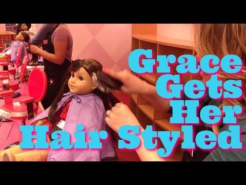 American Girl Hair Styled At AG Hair Salon