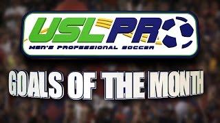 USL PRO Goals of the Month -- September 2014
