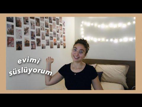 DUVAR ÖRTÜSÜ ALDIM 2020 😍 | Kutu Açılımı | Oda Dekorasyonu | Karantina Vlog | Wall cover