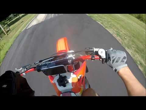 Honda Cr 500 Top Speed Test!!!