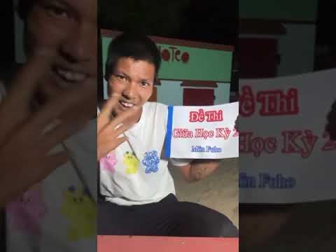 [ Lộc Fuho ] Đề thi học kỳ 2 của thầy Lộc Fuho - Idol Lộc Fuho #LocFuho