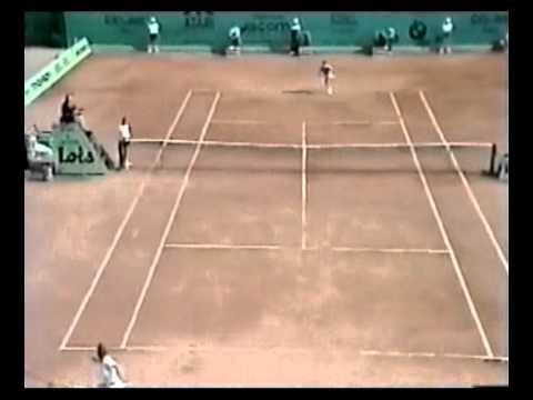 Borg vs Leconte - 1983 Monte Carlo  2R (part 1)
