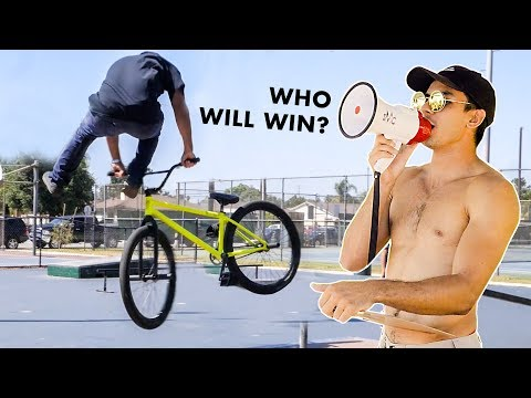 FIXIE TRICK CONTEST IN LOS ANGELES