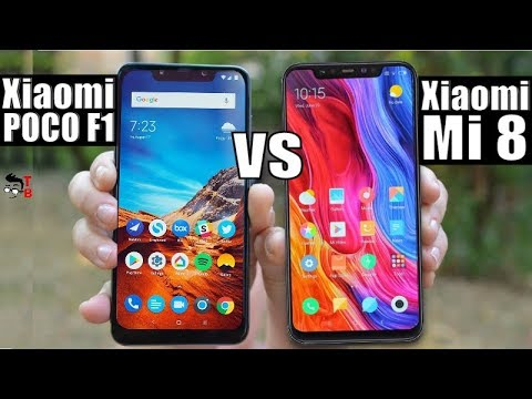 Xiaomi POCO F1 Vs Xiaomi Mi 8: Which Is The Best Flagship Phone?