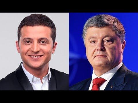 Дебаты Петра Порошенко и Владимира Зеленского. Полное видео