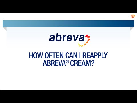 How Often To Apply Abreva Abreva Faq Youtube