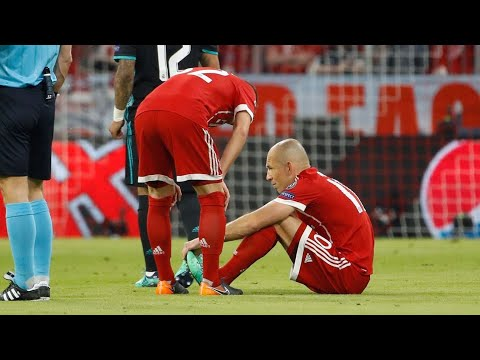 Arjen Robben, Jerome Boateng, Javi Martinez all injured as Bayern lose