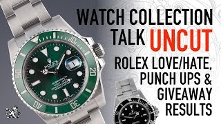 Why We Love & Hate Rolex, A Watch Club Punch Up & NTH Catalina Giveaway Results