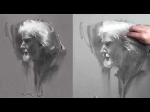 portrait-drawing-demo!