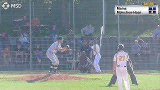 Baseball Bundesliga Game 5: München-Haar Disciples 4, Mainz Athletics 1 - HIGHLIGHTS