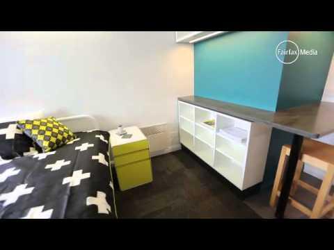 UTAS apartment walk-through