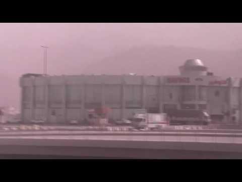 Drive through madinah, saudi arabia