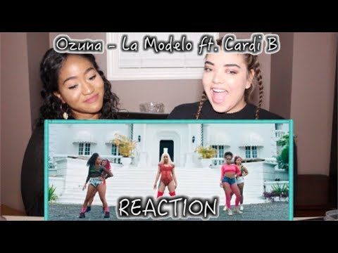 Ozuna - La Modelo ft. Cardi B | REACTION