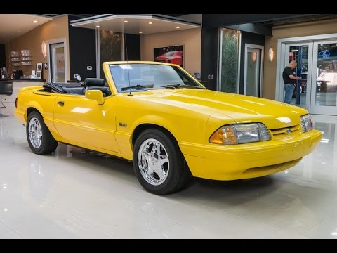 1993 Ford Mustang Lx 5 0 Convertible For